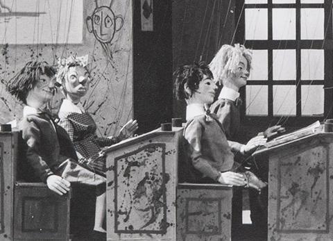 La synchronisation dans Le Bon petit diable (1963)