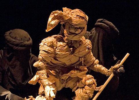 Effets spéciaux: la naissance d'Enkidou – Gilgamesh (2007)
